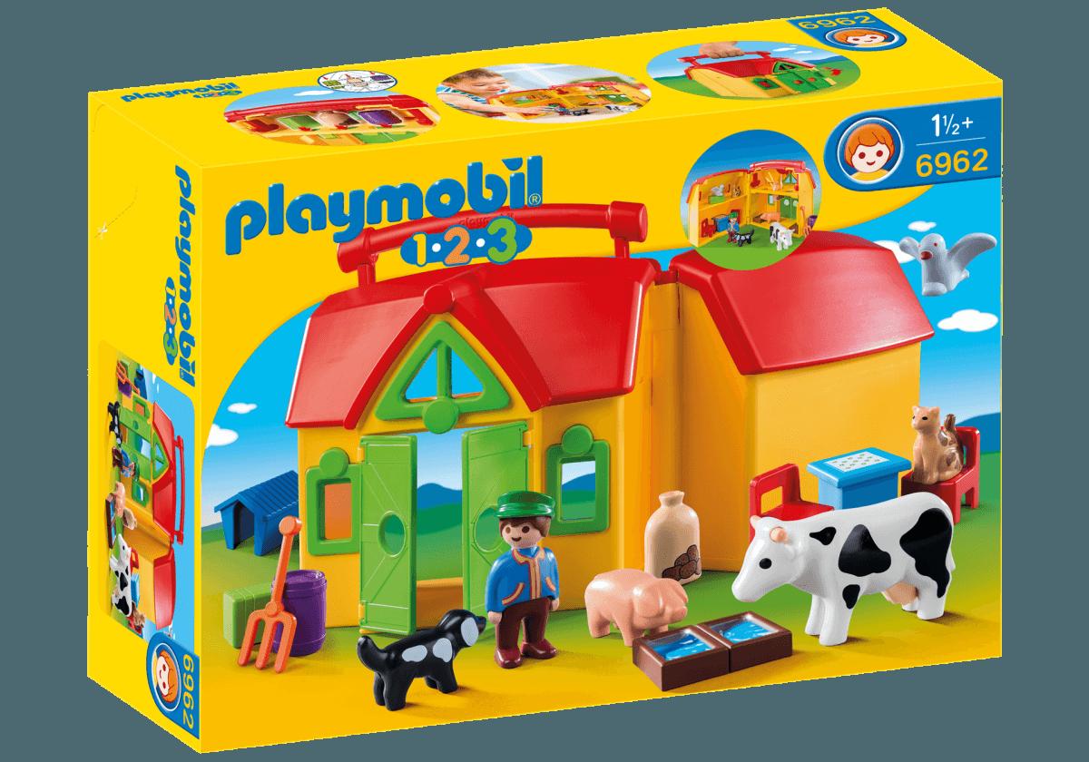 Mein Mitnehm-Bauernhof von Playmobil