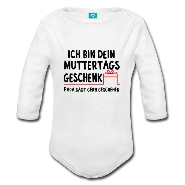 Muttertag Geschenk, Strampler mit Spruch