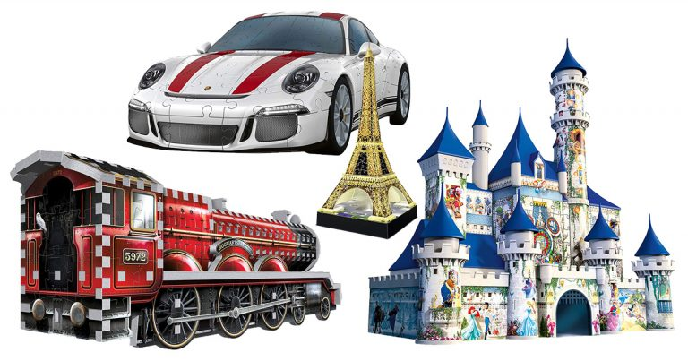 3D-Puzzles für Kinder