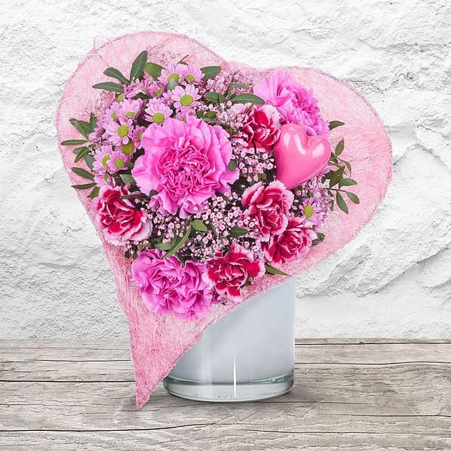 Blumenstrauß Herzenssache