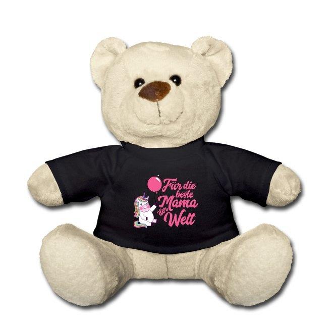 Muttertag Geschenk, Teddy Bär mit Spruch
