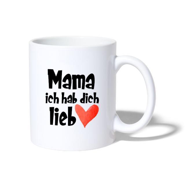 Muttertag Geschenk, Tasse mit Spruch