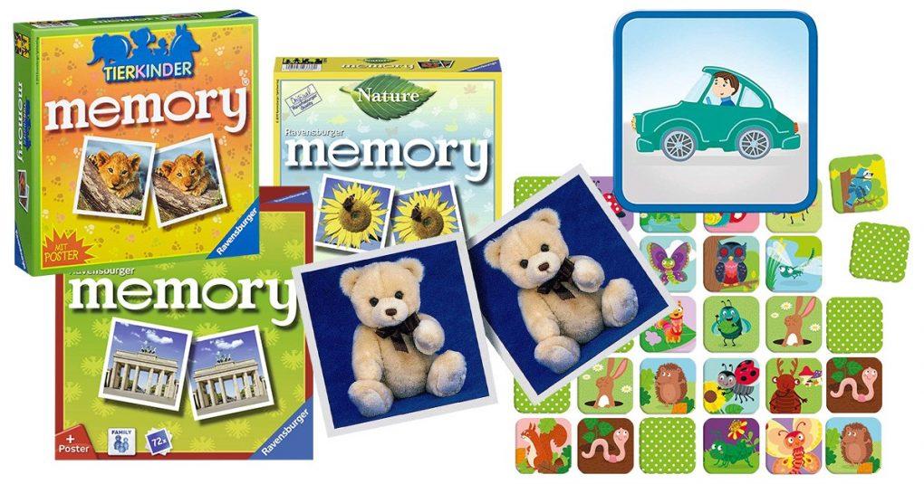 Memory-Spiele für Kinder