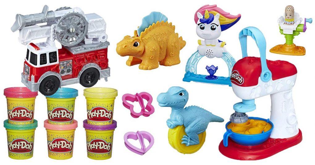 Play-Doh Kneten