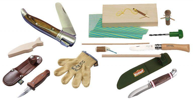 Schnitzmesser für Kinder