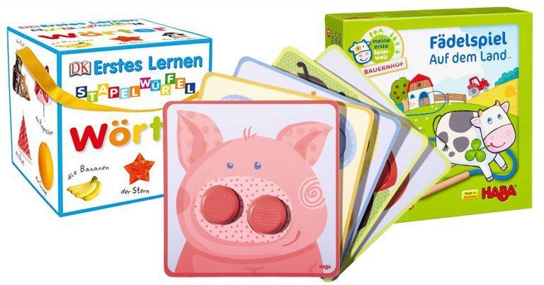 Spiele für 1-jährige Kinder