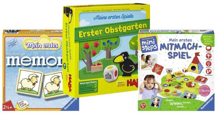 Spiele für 2-jährige Kinder