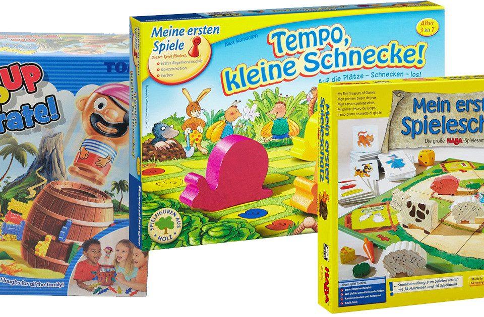 Spiele für 3-jährige Kinder