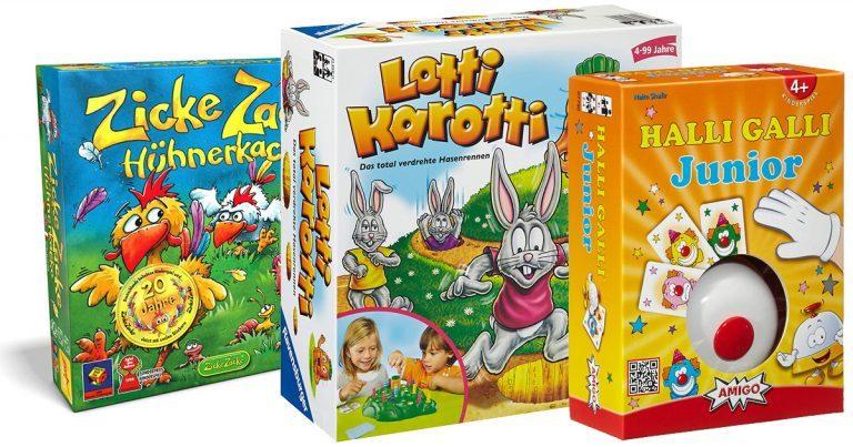 Spiele für 4-jährige Kinder