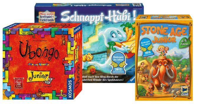 Spiele für 5-jährige Kinder