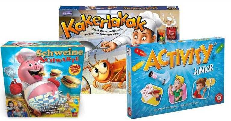 Spiele für 6-jährige Kinder