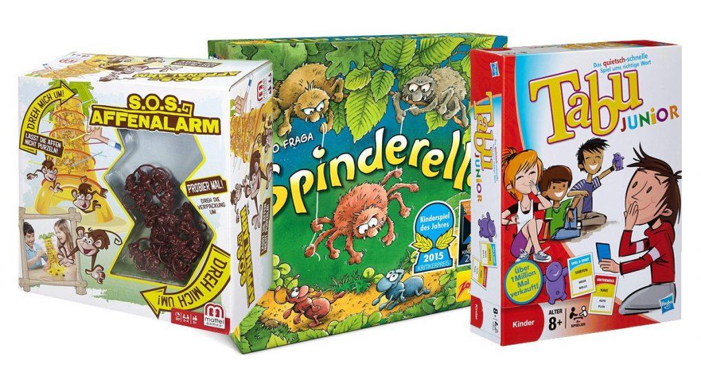 Spiele für 7-jährige Kinder