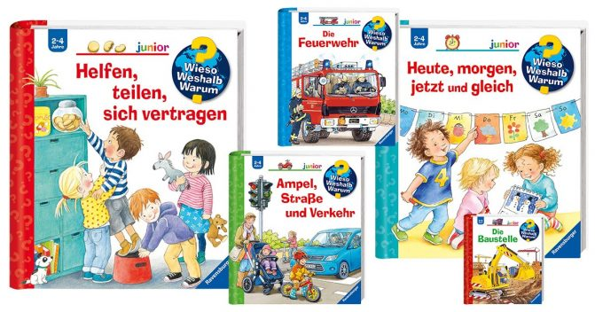 """""""Wieso Weshalb Warum""""-Kinderbücher"""