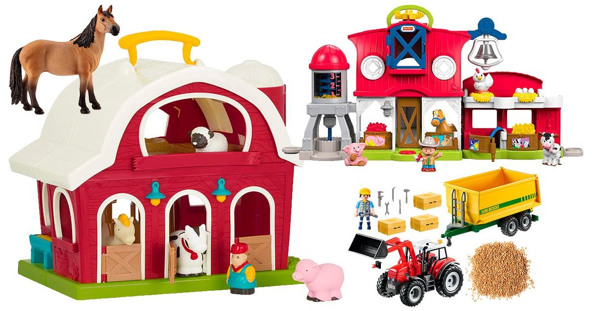 Bade Spielzeug Battat und Wassertiere Bauernhof