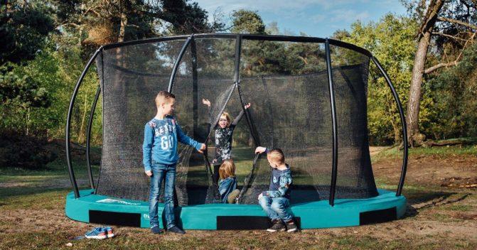 Bodentrampolin für Kinder