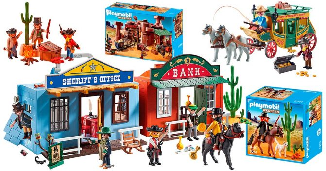 Playmobil Western-Sets