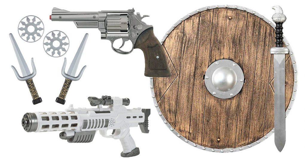 Die 7 beliebtesten Spielzeugwaffen | Dad's Life