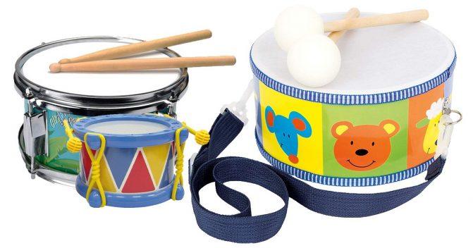 Trommeln für Babys