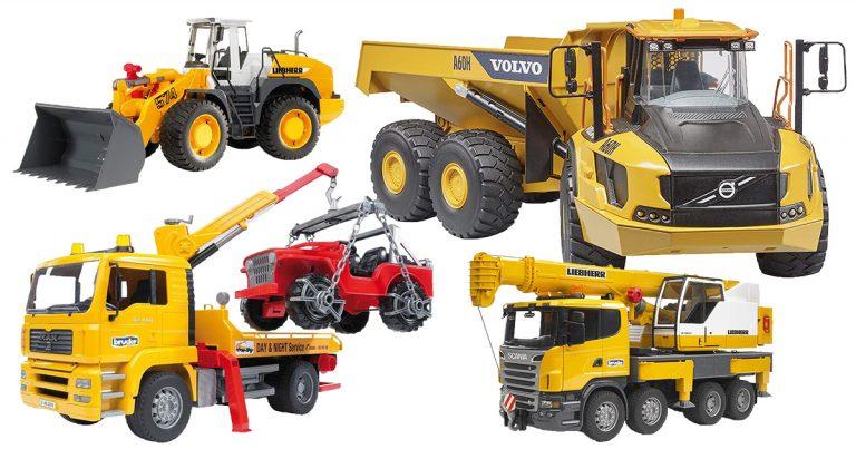 Baufahrzeuge von Bruder