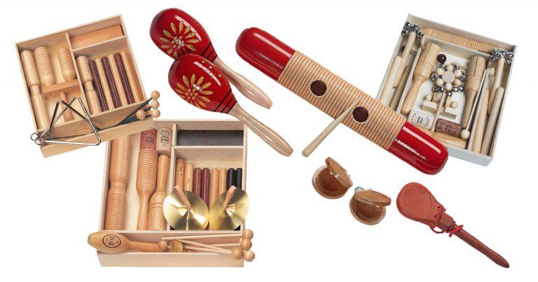 ORFF-Instrumente für Kinder