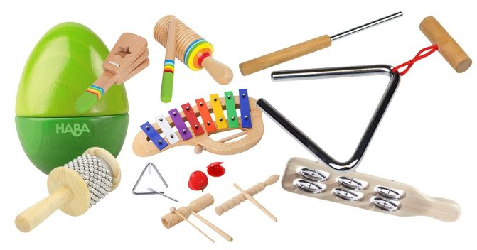 Percussion-Instrumente für Kinder
