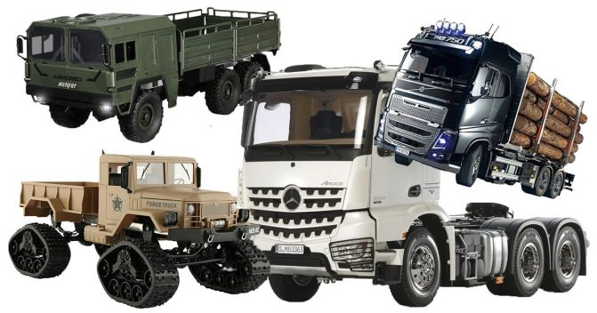 RC Trucks für Kinder