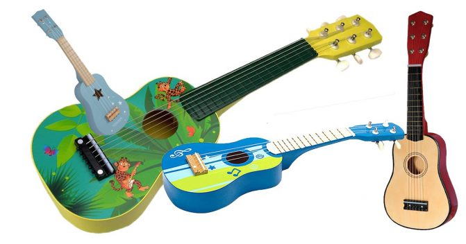 Spielzeuggitarren für Kinder