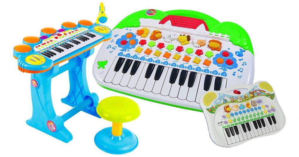 Spielzeug-Keyboards