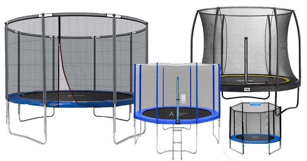 Trampoline mit 366 cm Durchmesser