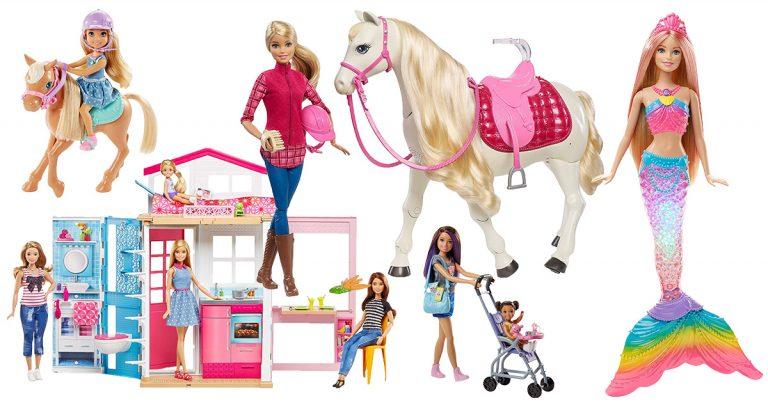 Barbie Puppen, Häuser & Pferde
