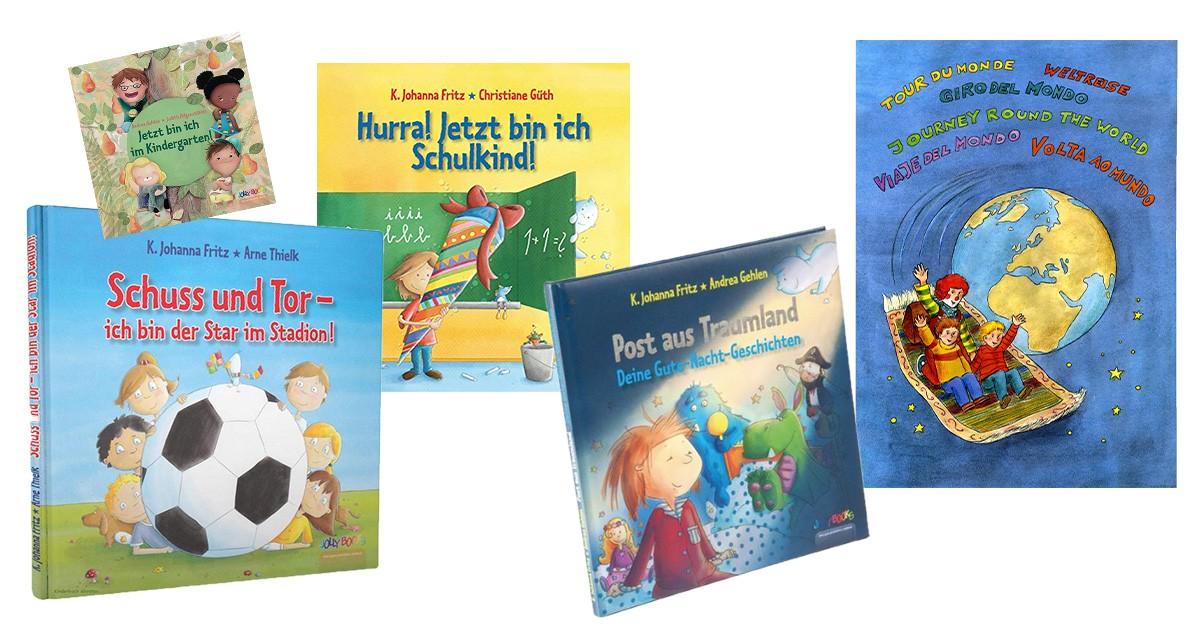 Personalisiertes Kinderbuch Die 13 Schönsten Geschichten