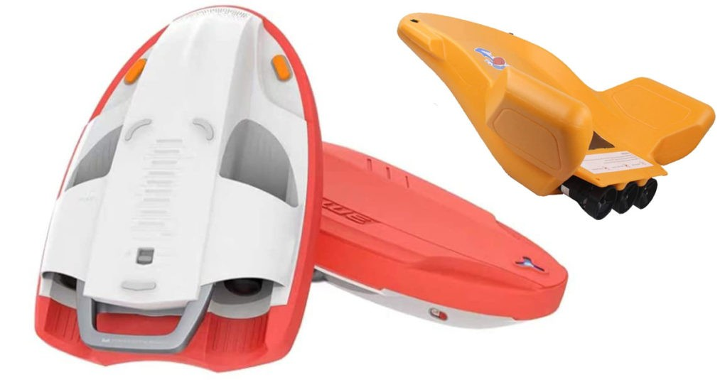 Elektro-Surfboard