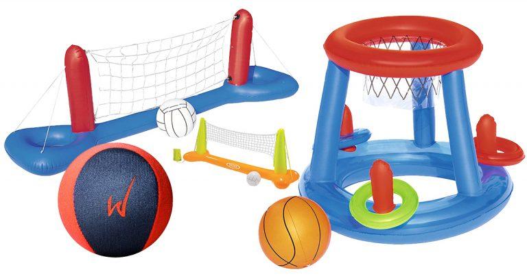 Wasserball-Spiele für den Pool