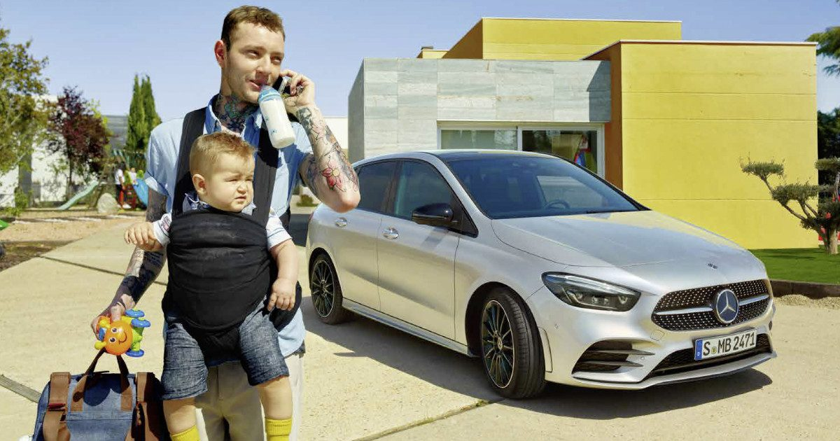 Familienauto: Mercedes-Benz B-Klasse