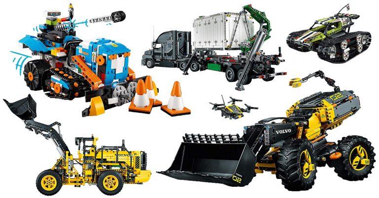 Ferngesteuerte LEGO Technic Bausätze (mit Motor)