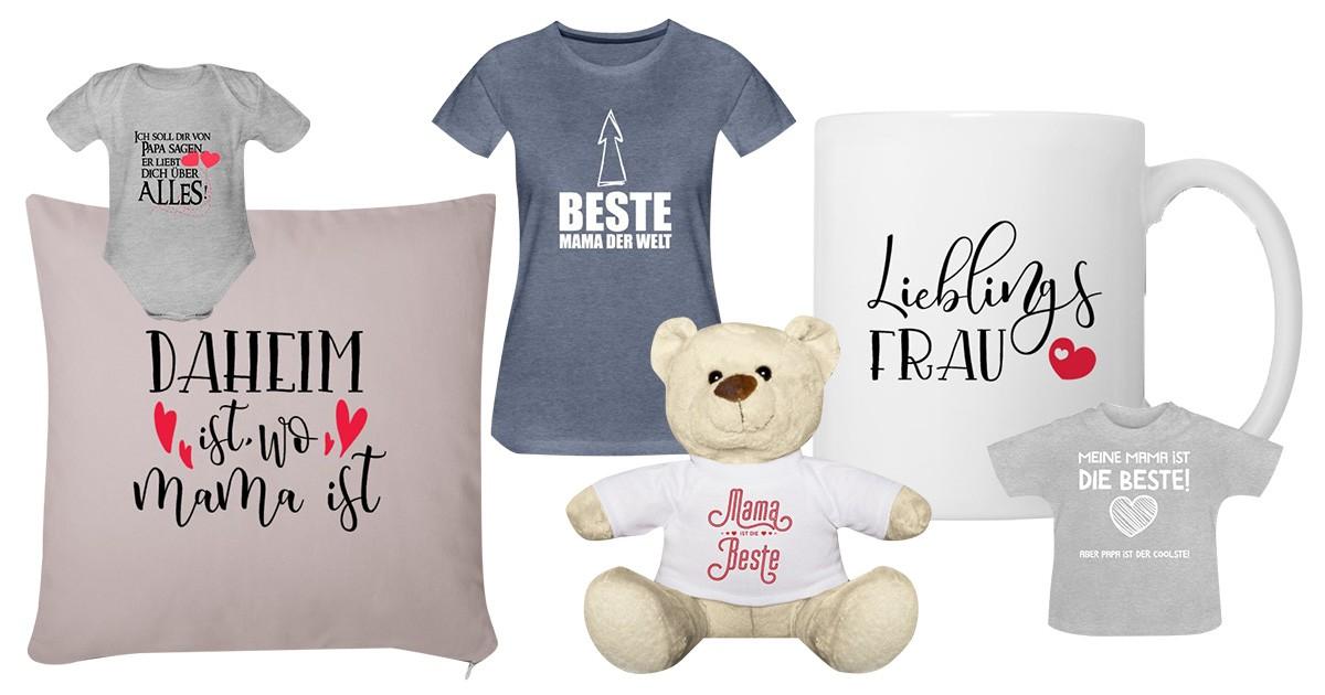 Die Besten Mama Sprüche Auf T Shirts Stramplern Tassen
