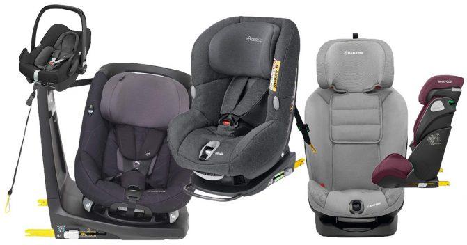 Maxi Cosi Kindersitze bis 36 kg