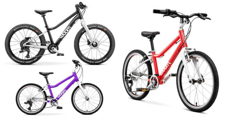 woom 4 Kinderfahrräder