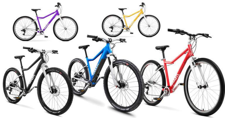 woom 6 Kinderfahrräder