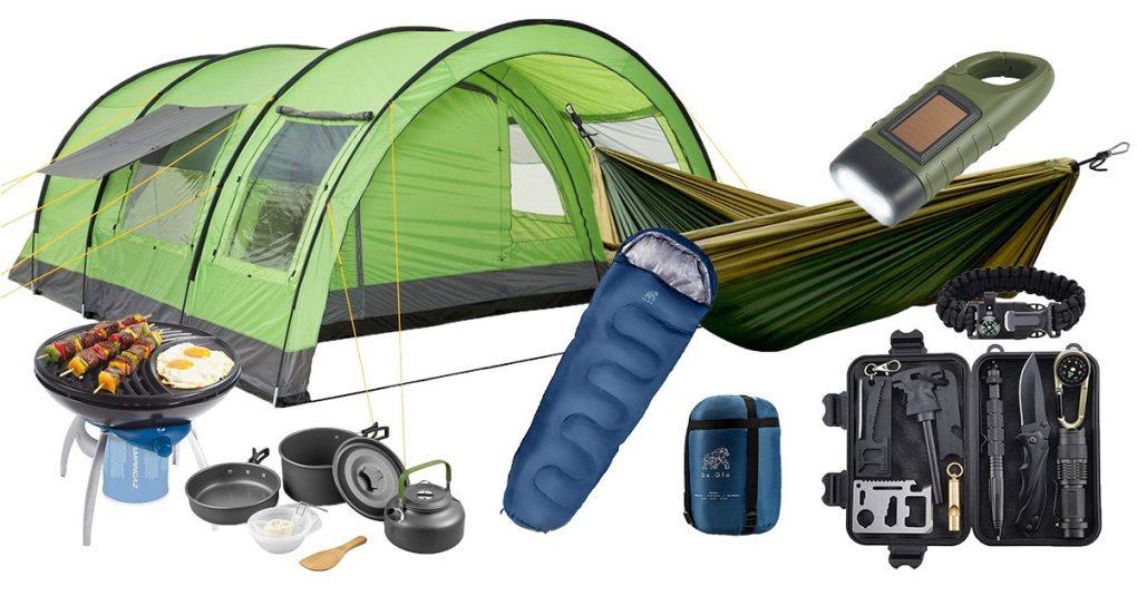 Camping-Ausrüstung für den Familienurlaub