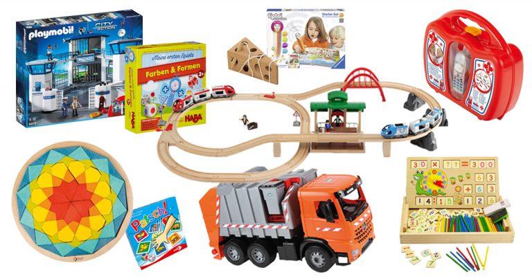 Kinderspielzeug Ratgeber: Individuell nach Alter und