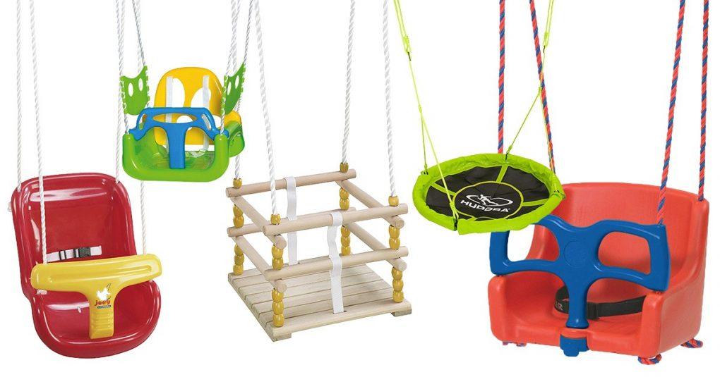 Kinderschaukel Babyschaukel Garten Outdoor Spielzeug Holzschaukel 80KG Blau
