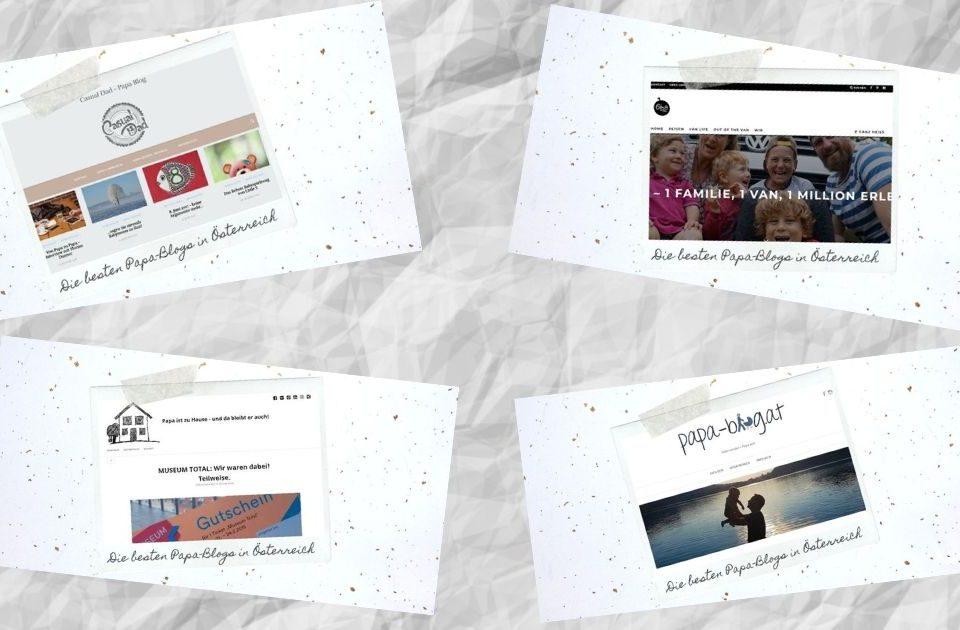 4 empfehlenswerte Papa-Blogs aus Österreich
