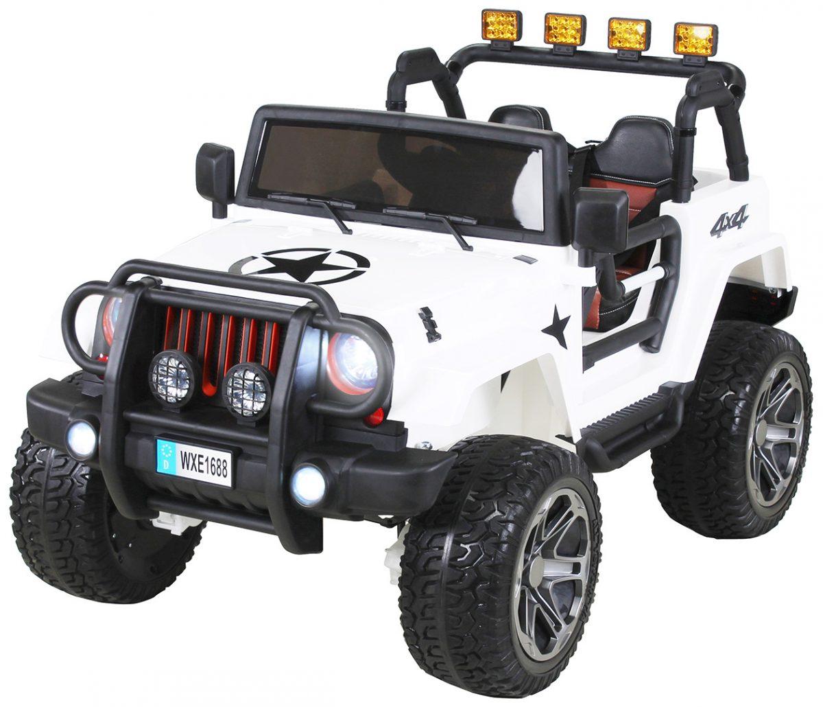 Kinder Elektroauto Wrangler Offroad Jeep ALLRAD 2-Sitzer