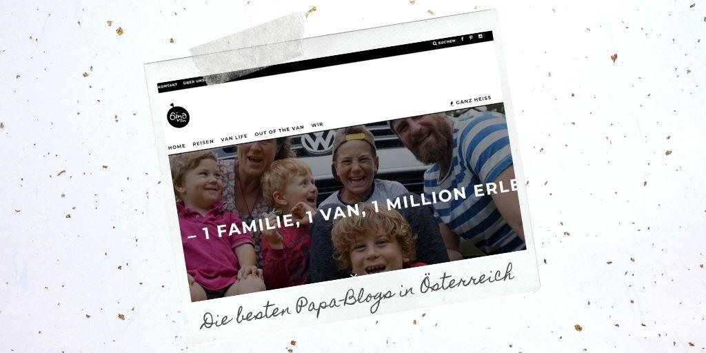 Papa Blogs aus Österreich: 6 in a van