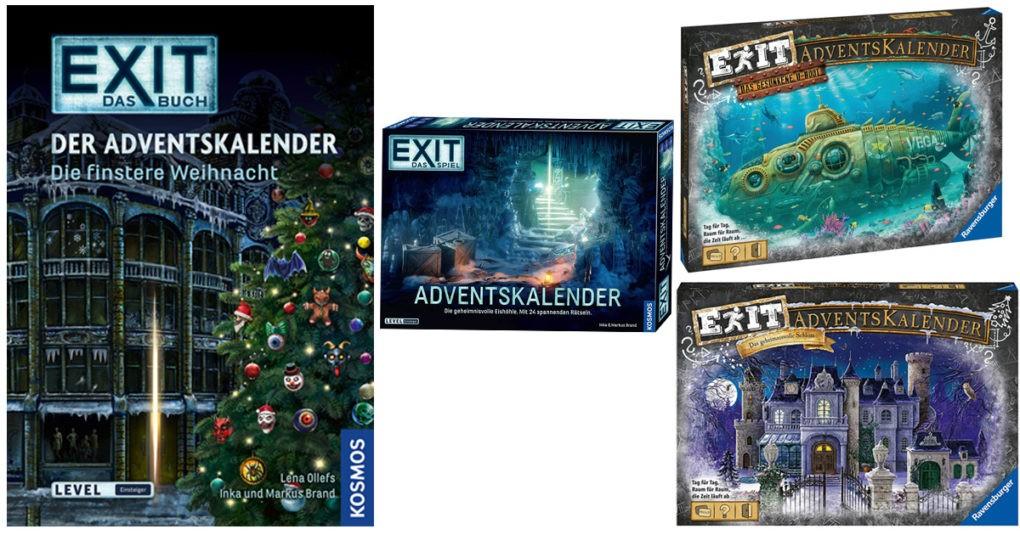 Adventskalender Exit-Spiel