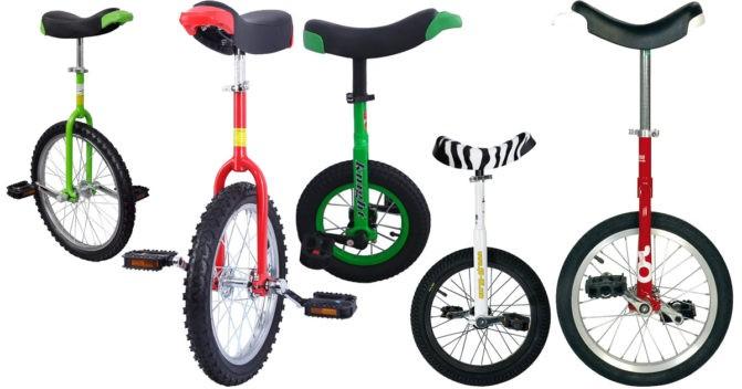 Kinder-Einrad