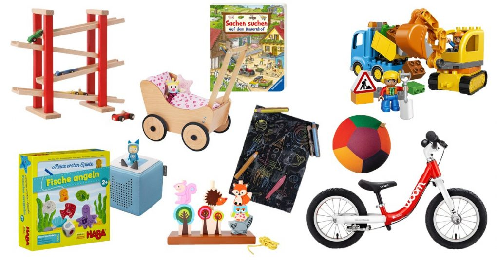 Sinnvolles Spielzeug ab 1 Jahr die besten Geschenke für
