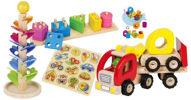 Holzspielzeug von Goki
