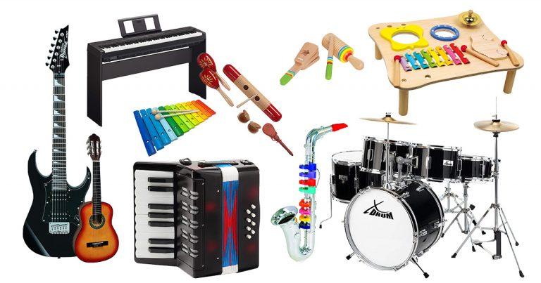 Musikinstrumente Kinder